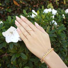 Крест над кольцо в золоте - Nialaya ювелирные изделия - 4