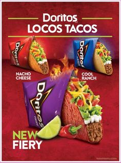 Fiery Doritos Locos Tacos Coming to Taco Bell on August 22nd