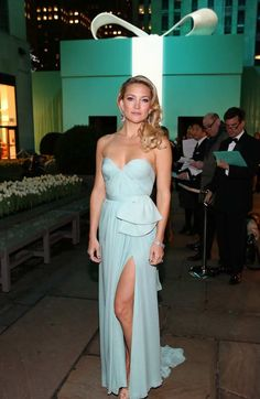 Kate Hudson at the Tiffany & Co. Blue Book Ball in New York