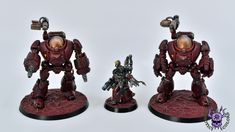 Adeptus Mechanicus: Kastelan Robots  #ChaoticColors #commissionpainting #paintingcommission #painting #miniatures #paintingminiatures #wargaming #Miniaturepainting #Tabletopgames #Wargaming #Scalemodel #Miniatures #art #creative #photooftheday #hobby #paintingwarhammer #Warhammerpainting #warhammer #wh #gamesworkshop #gw #Warhammer40k #Warhammer40000 #Wh40k #40K #Adeptusmechanicus #Mechanicus #Admech #Adeptusmechanicus #Mechanicum #Forgeworld #Paintingforgeworld #KastelanRobots #Kastelan Grey Knights, Warhammer Models, Game Workshop, Warhammer 40000, Tabletop Games, Priest, Robots, Gw, Miniatures