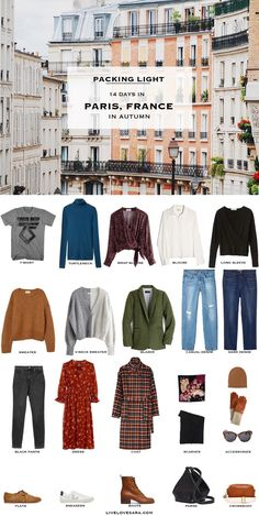 What to do when you need a mixed climate packing list? I may have a solution for you in this post. I have a request for a two week trip to Europe in October (th Fall Packing List, Paris Packing, Europe Packing, Winter Packing, Fall Capsule Wardrobe, Travel Wardrobe, Travel Outfits, Barcelona Outfit, Paris Outfits