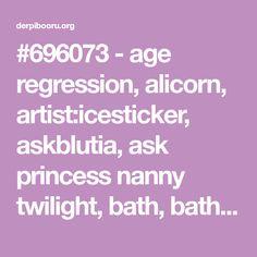 #696073 - age regression, alicorn, artist:icesticker, askblutia, ask princess nanny twilight, bath, bathtub, bluetia, blutia, cewestia, comic, female, filly, mare, pony, princess celestia, princess luna, rubber duck, safe, tumblr, twilight sparkle, twilight sparkle (alicorn), wet mane, woona - Derpibooru - My Little Pony: Friendship is Magic Imageboard