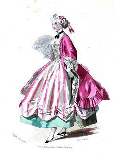 costume Rococo, 18 vêtements de siècle,