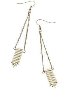 Slinky sticks earring