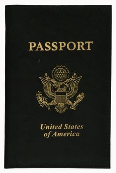 RFID Blocking USA Gold Logo Leather Passport Cover Holder (Black): RFID Blocking Passport Cover Genuine leather passport Cover Effectively blocks RFID readers Prevents unauthorized access to personal information Measures: L X H when closed Passport Travel, Passport Cover, United States Passport, Usa Gold, Id Wallet, Gold Logo, New Travel, Print Logo, Travel Accessories