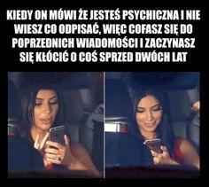 Kiedy on mówi, że jesteś psychiczna..😂😂😂 Wtf Funny, Best Memes, Lol, Humor, Humour, Funny Photos, Funny Humor, Comedy, Lifting Humor