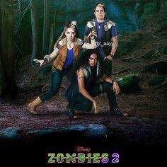 Zombie Disney, Zombie 2, Zombie Party, Zombie Cheerleader, Zombie Wallpaper, Chandler Kinney, Meg Donnelly, Zombie Birthday, Disney Channel Original