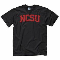 North Carolina State University Wolfpack College Basics Short Sleeve Tee - New Agenda by Perrin | Neebo.com