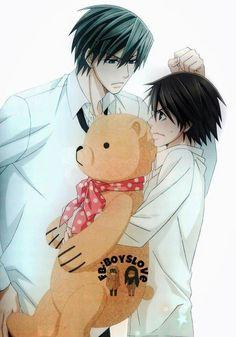 Usagi and Misaki | Junjou Romantica