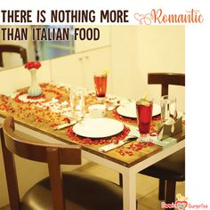 """""""Life is a combination of Magic and Pasta,"""" said the famous Italian Film Director Federico Fellini. Go Italian this time if you are out at Malleshwaram, Bangalore for a delightful Italian dining experience with your darling candlelightdinner Italian Dining, Italian Dishes, Italian Recipes, Surprise Date, Surprise Gifts, Cute Candles, Best Candles, 3 Course Meals, Cute Cafe"""