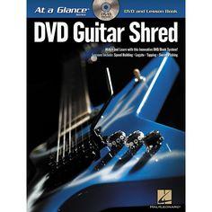 Hal Leonard Guitar Shred At a Glance Series (Book/DVD)