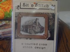 Old Matts Cabin Cross Stitch pattern, Branson MO