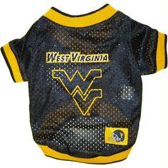 West Virginia University Jersey Small