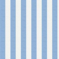 Blue And White Striped Fabric Carousel Designs Great For Baby Boy S Nursery Room