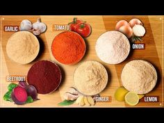 Lemon Powder Recipe, Masala Powder Recipe, Pureed Food Recipes, Snack Recipes, Cooking Recipes, Indian Snacks, Indian Food Recipes, Tomato Puree Recipe, Masala Kitchen