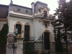 Dinu and Didi Brătianu House, Bucharest, Romania French Exterior, Bucharest Romania, My Town, Facade, Dan, Buildings, To Go, Houses, Mansions