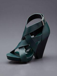 Block Heel Sandal by Kathryn Amberleigh on Gilt.com