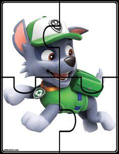 FREE Paw Patrol Puzzles | prekautism.com