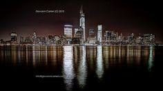 Manhattan skyline viewed from The Waterfront - New Jersey