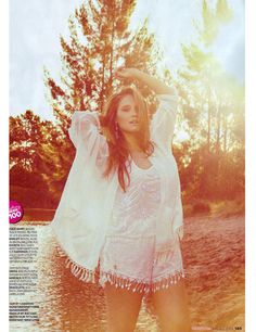 """Model Mercy Watson of Bella Models in """"Field of Dreams"""" for Cosmpolitan AU photographed by Marnie White and styled Nicole Adolphe."""