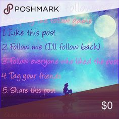 🌺Follow Game🌺 Let's play 🌺 Help me help you help everyone get more followers 😍 Other