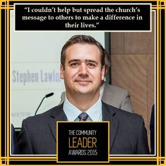 @Paul Ninnes, Professional Leader of the Year 2014 #theleaders2015