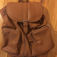 For Sale: Brown Mini Backpack  for $15
