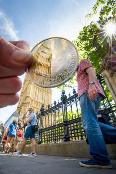 The new £5 coin released by the Royal Mint. #london #travel #bigben #currency