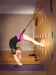 Wall ropes #yoga More