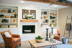 Living Rooms Decorated By Joanna Gaines Corner Shelf Room 183 Best Images Guest Home Little Metal Display Ladder Magnolia Market Chip Waco