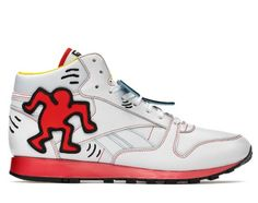 Keith haring shoe collection by Reebok Sneaker Release 57ed68323