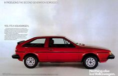 Classic Car News Pics And Videos From Around The World Vw Corrado, Vw Scirocco, Vw Group, Car Brochure, Volkswagen Group, Old Classic Cars, Car Advertising, Ads, Vw Cars