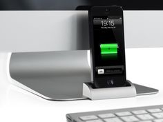 iPhone Dock for iMac & Apple Displays – The OCDock ™ by OCDesk, via Kickstarter.