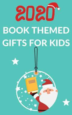 Gift ideas for children to build literacy skills. Books to give as gifts as well as book-themed present ideas including stocking stuffers for kids. #giftsforkids #christmasguide #GrowingBookbyBook