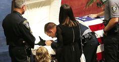Police Honor Fallen K-9 Hero In Tear-Jerking Funeral via LittleThings.com