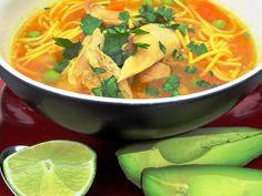 Sopa de Pollo.  Colombian Recipes