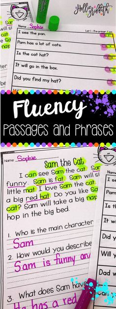 Engage your readers with these fun fluency passages that are sure to make your students giggle! Each passage and activity focuses on a targeted phonics skill. Students get to practice that skill in the context of reading for comprehension! These passages are perfect for first and second graders!