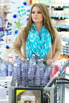 Party time! Maria Menounos stocks up on Svedka Vodka