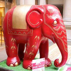 'Cartier' - Elephant Parade in London, England 2010;  photo by drplokta, via Flickr