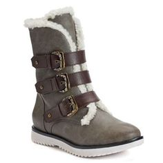 c94786cf21a SONOMA life + style® Women s Buckle Boots Sonoma Goods For Life
