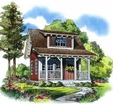 tiny and cute Log Homes plans and ideas