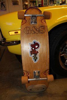 G&S Proline 500 - My first skateboard except i was running it with Powell Peralta Bones & Tracker trucks. Old School Skateboards, Vintage Skateboards, Skate And Destroy, Skate Art, Skate Style, Skateboard Decks, Old Skool, My Ride, Surfing
