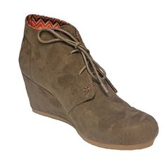 3c04a3634e8a Women s Hazelnut Suede Oxford Wedge Shoes Size 10M Cato  Cato  Oxfords   Casual