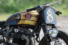 Honda CB500 Cafe Racer  By MM Customs