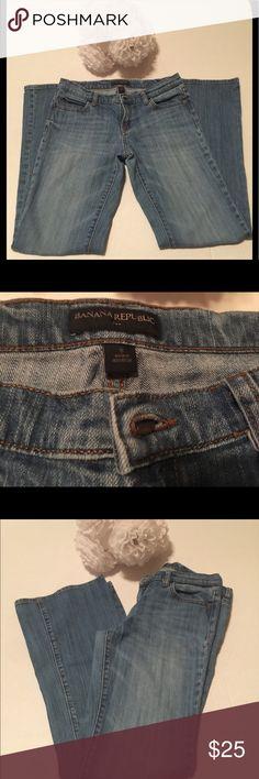 Banana Republic jeans Banana Republic Boot cut 5 pocket jeans.  Size 6. Banana Republic Jeans Boot Cut