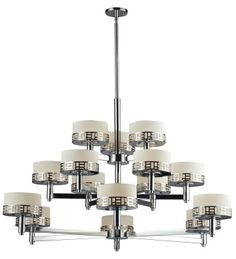 Elea 15 Light Chrome Chandelier - Z-Lite - 328-15-CH www.shopazteclighting.com/brand-z-lite