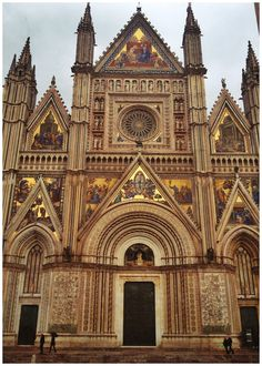 Duomo in Orvieto, Italy
