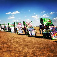 See 1119 photos and 75 tips from 5142 visitors to Cadillac Ranch. An Amarillo staple that. Route 66 Road Trip, Road Trip Usa, The Places Youll Go, Places To Visit, Road Trippin, Best Sites, Cadillac, Travel Inspiration, Ranch