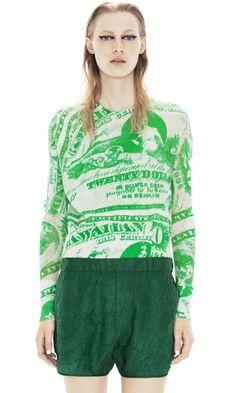 Lia Print Green