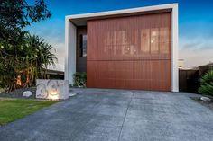 Timber Cladding, Batten, Home Reno, Beautiful One, Screens, Facade, Garage Doors, Australia, Architecture